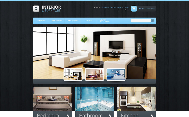 Interior & Furniture Magento Theme