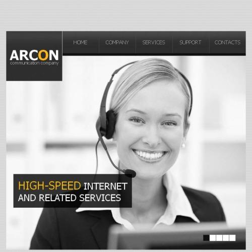 Arcon - Facebook HTML CMS Template