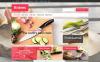 OpenCart шаблон №46855 на тему магазин посуды New Screenshots BIG