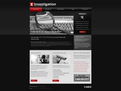 Security Moto Cms Html Template #42455
