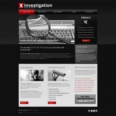 Private Investigator Templates   TemplateMonster