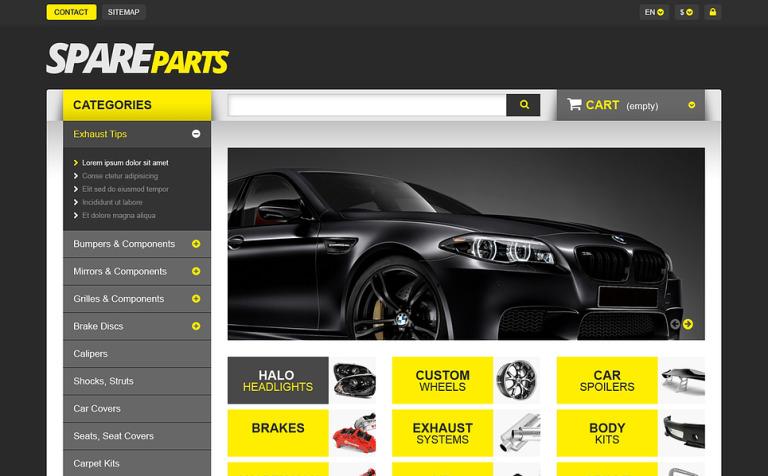 Spares for Speed PrestaShop Theme