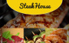 Steakhouse Facebook HTML CMS Template New Screenshots BIG
