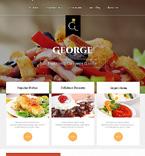 Cafe & Restaurant Joomla  Template 46900