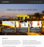 Hotels WordPress Template 46905