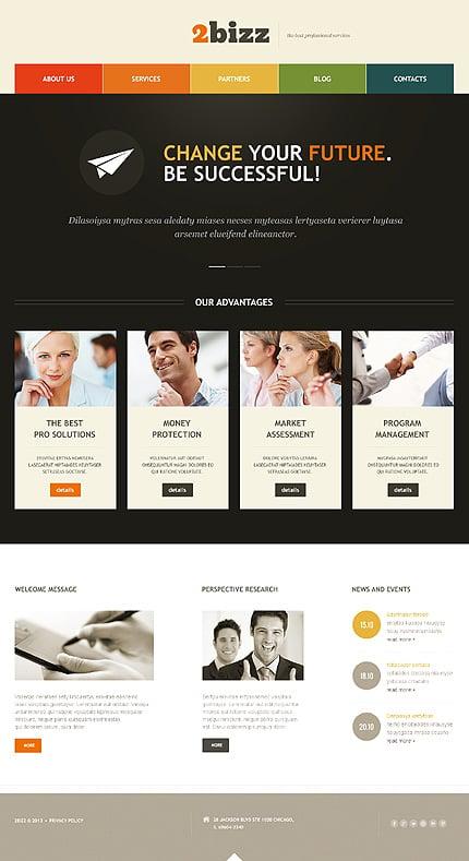 WordPress Theme/Template 46906 Main Page Screenshot
