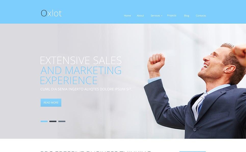 Modèle Web adaptatif  pour une agence de marketing New Screenshots BIG