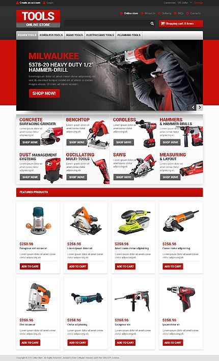 ADOBE Photoshop Template 46925 Home Page Screenshot