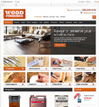 Furniture VirtueMart  Template 46926