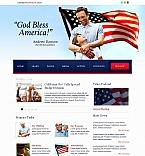 Politics Moto CMS HTML  Template 46930