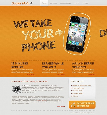 Website Template #46936