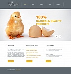 Agriculture Moto CMS HTML  Template 46937