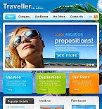 Travel Facebook HTML CMS  Template 46966