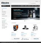 Electronics ZenCart  Template 46973
