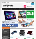 Computers VirtueMart  Template 46984
