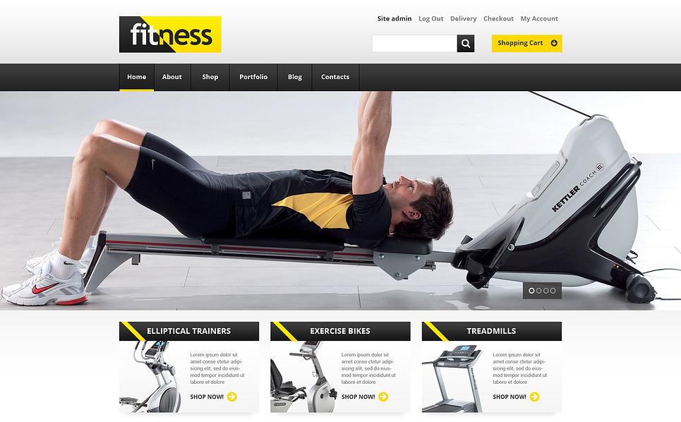 Reszponzív Fitnessz WooCommerce sablon New Screenshots BIG