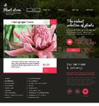 Flowers Website  Template 46994
