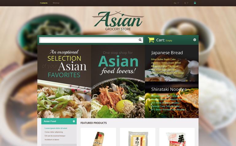 Asian Grocery Store PrestaShop Theme