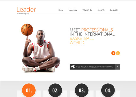 Basketball Responsive
