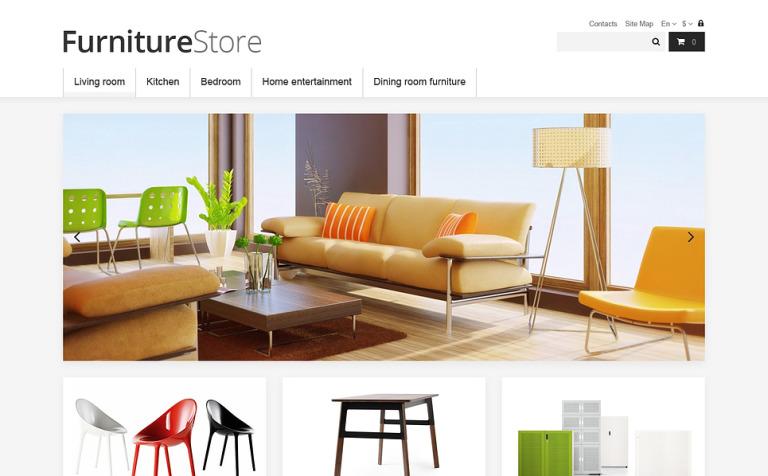 Clean Furniture Store PrestaShop Theme