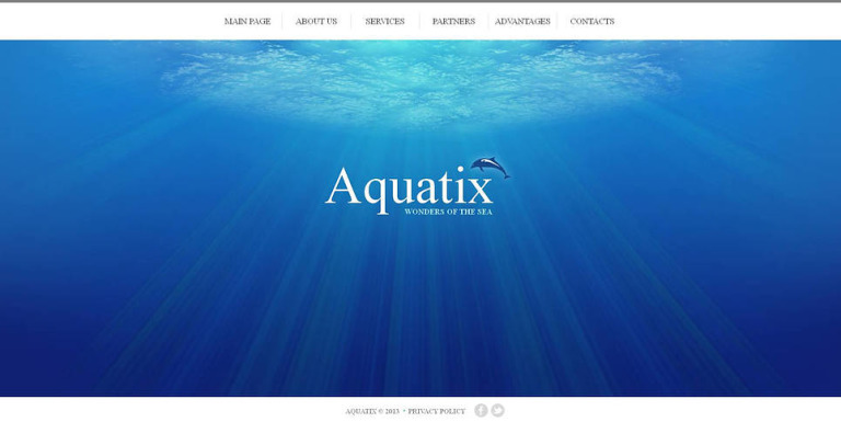 Dolphin Moto CMS HTML Template New Screenshots BIG