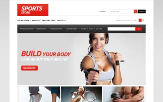 Everything for Sports VirtueMart Template