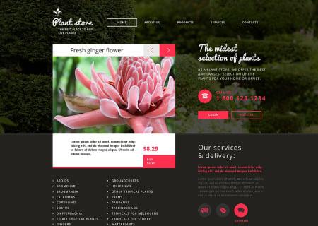 Flower Shop Responsive