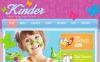 Luxusní Facebook HTML CMS šablona na téma Dětské centrum New Screenshots BIG