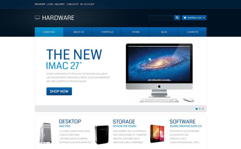Modern Hardware WooCommerce Theme