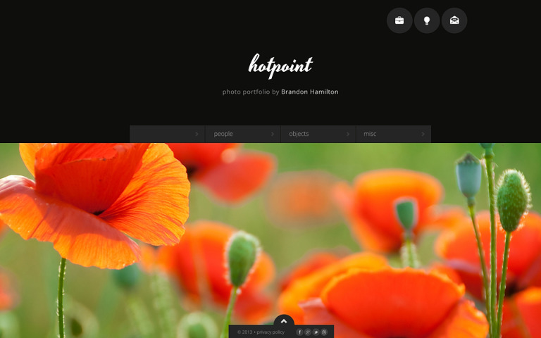 Photographer Portfolio Website Template New Screenshots BIG