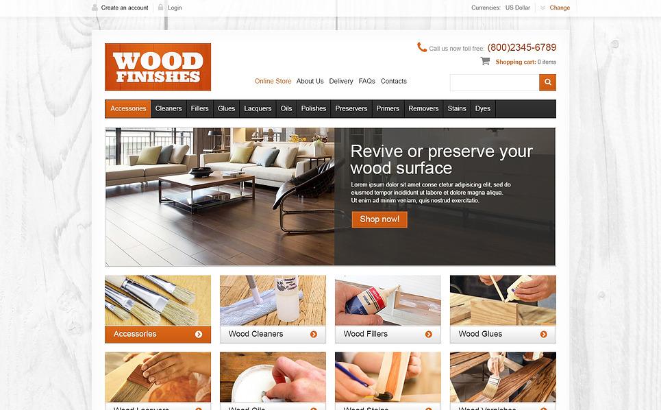 Plantilla VirtueMart #46926 para Sitio de Piso New Screenshots BIG
