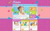 Premium Moto CMS HTML Template over Familie centrum  New Screenshots BIG