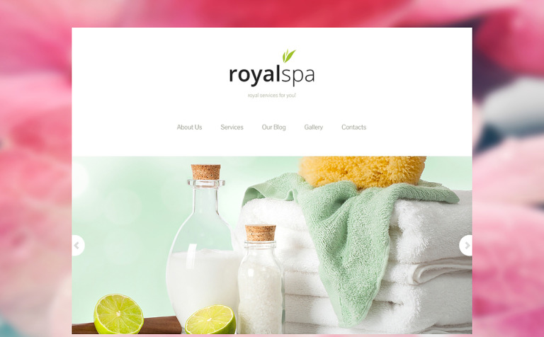 Tender Spa Salon Joomla Template