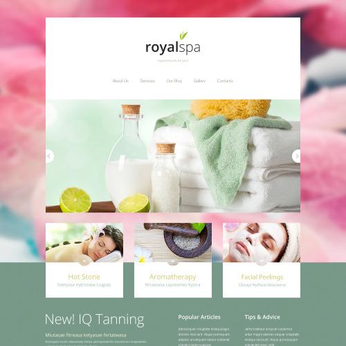 Royal Spa - Joomla! Template based on Bootstrap