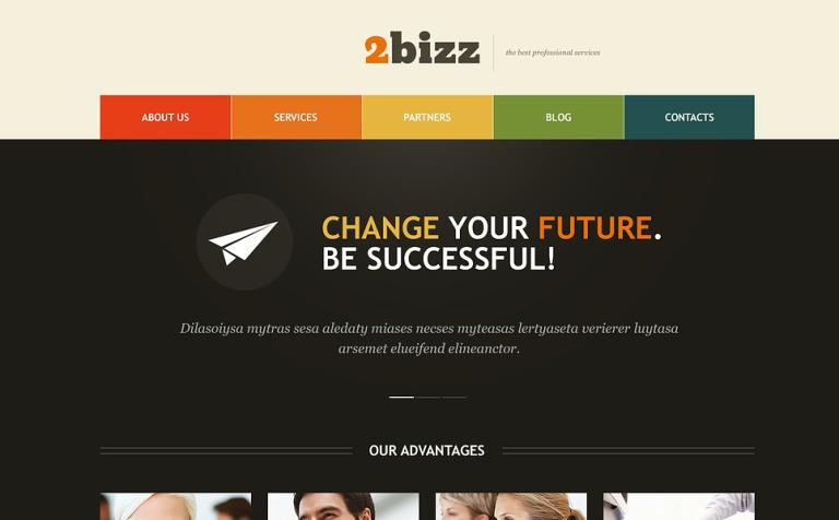 Theme for Marketing Agency WordPress Theme