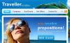 Travel Guide Facebook HTML CMS Template New Screenshots BIG