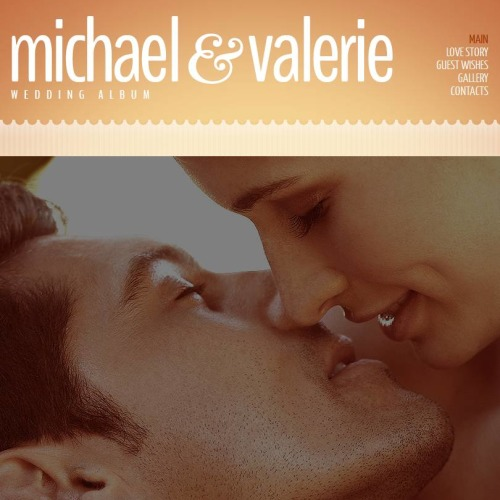 Micheal & Valerie - Facebook HTML CMS Template