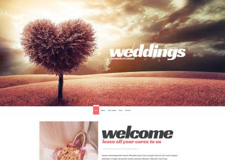 Wedding Planner Responsive
