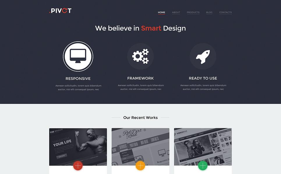 Responsive WordPress thema over Ontwerpstudio  New Screenshots BIG