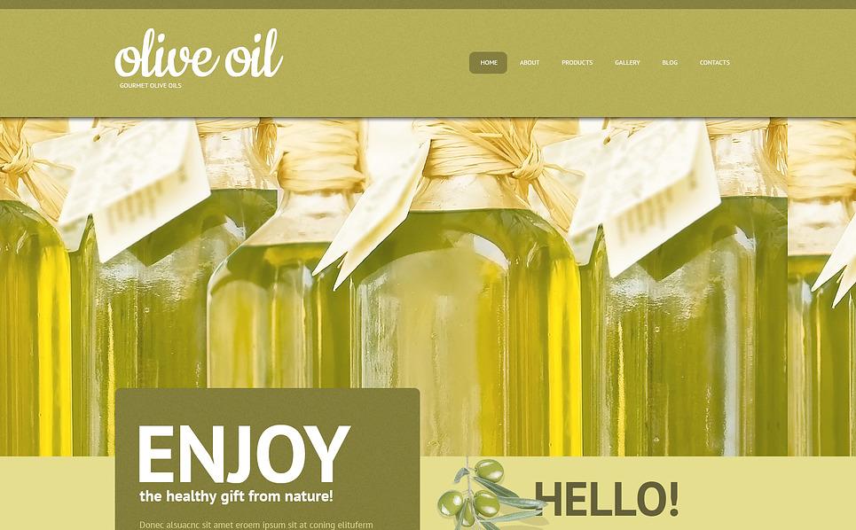 Responzivní WordPress motiv na téma Obchod s potravinami New Screenshots BIG