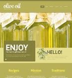 Food & Drink WordPress Template 47003