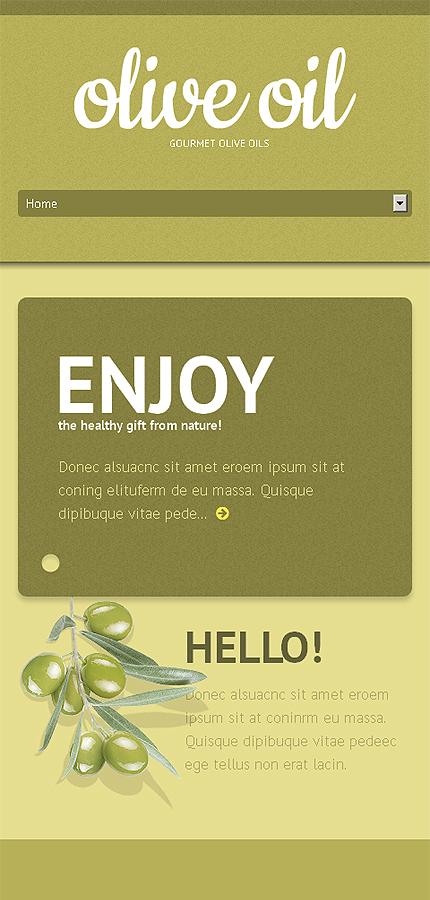 WordPress Theme/Template 47003 Main Page Screenshot