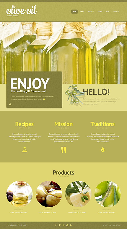 Website Template #47003