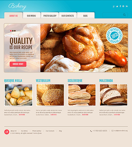 WordPress Theme/Template 47006 Main Page Screenshot