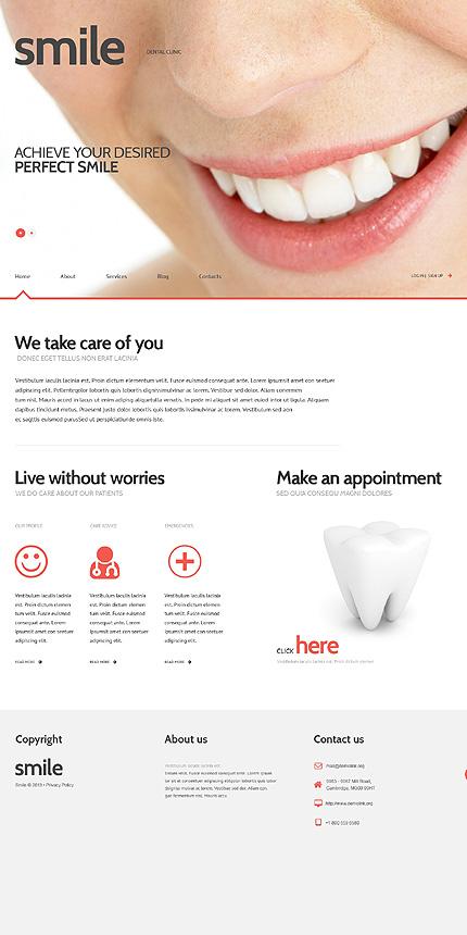 WordPress Theme/Template 47011 Main Page Screenshot