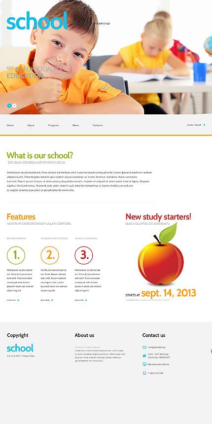 WordPress Theme/Template 47012 Main Page Screenshot