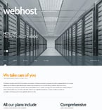 Web Hosting WordPress Template 47013