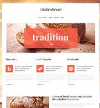 Food & Drink WordPress Template 47015