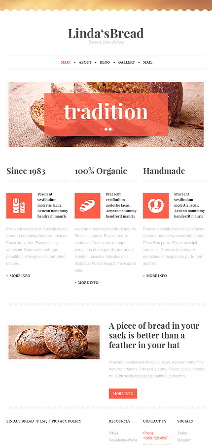WordPress Theme/Template 47015 Main Page Screenshot