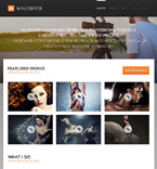 Art & Photography WordPress Template 47016